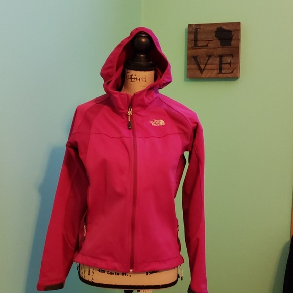 North Womens Face Jacket Small Fuschia thQrdCxs